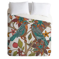 Valentina Ramos Lovebirds Duvet Cover Luxe KING Sample Sale