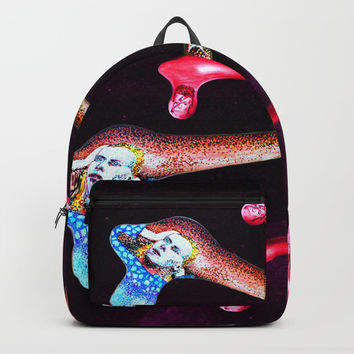 Bowiesque Backpacks by Alan Hogan