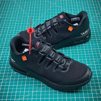 Off White x Nike Air Max 2018 Black Sport Running Shoes - Best Online Sale