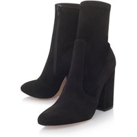 Valentino Suede Ankle Boots 100