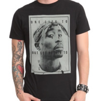 Tupac One Life To Live T-Shirt