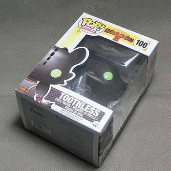 Hot FUNKO POP MOVIES HOW TO TRAIN YOUR DRAGON 2 TOOTHLESS A
