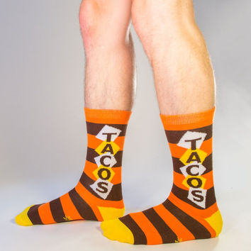 GUMBALL POODLE TACOS CREW SOCKS