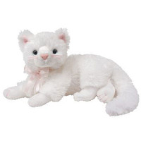 TY Beanie Baby - BIANCA the White Cat (8 inch): BBToyStore.com - Toys, Plush, Trading Cards, Action Figures & Games online retail store shop sale