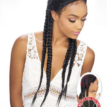 KIMA BRAID LACE WIG (SYNTHETIC HAIR WIG) - KBW02