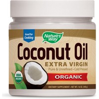 Nature's Way Organic Coconut Oil, Extra Virgin 16 oz - Walmart.com