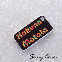 iPhone 5 Case Hakuna Matata Accessory Cell Phone Case