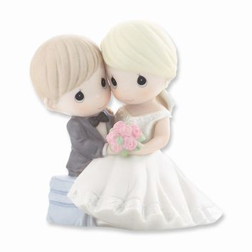 Precious Moments To Have And To Hold... Porcelain Figurine