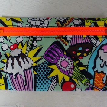 Snack Attack Pencil Case