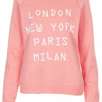 Cities Tri Marl Sweat