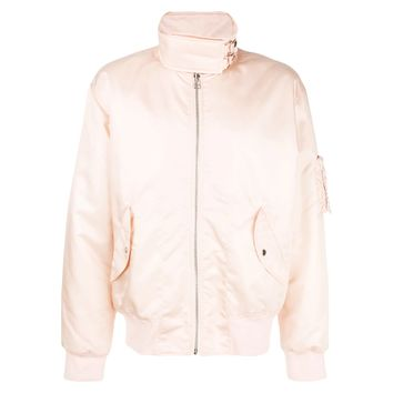 Hi-Collar Bomber Jacket by Helmut Lang
