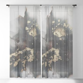 Freeform Sheer Curtain by duckyb