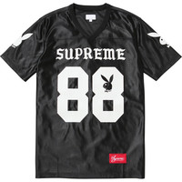 Supreme: Supreme/Playboy® Football Top - Cardinal