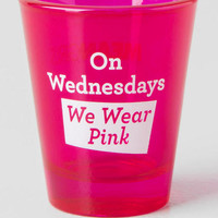 Mean girls pink shot glass