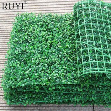 Simulation of milan lawn fake douban green grass pile wall gourd grass artificial plant wall decoration wedding hotel background