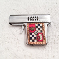 Cigarette Lighter, Enamel Gun, Red, Black, White, Corolla, SUMMER SALE