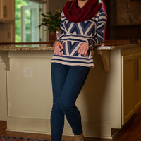 G-Oh My Sweater, Navy