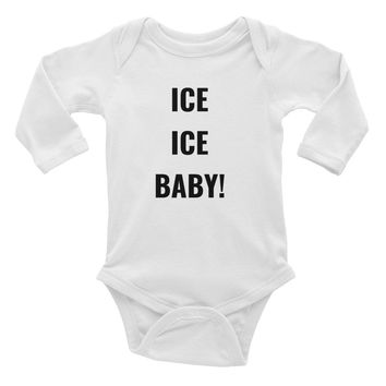 ICE, ICE, BABY! Infant Long Sleeve Onsie
