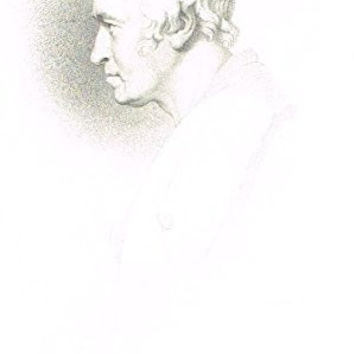 "Samuel Smiles's 'Brief Biographies' - ""JAMES WATT"" - Steel Engraving - 1861"