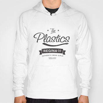 The Plastics - from the movie Mean Girls starring Lindsay Lohan Hoody by AllieR