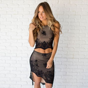 Best Wishes Two Piece Lace Set