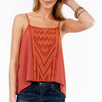 Fronted Aztec Tank $26