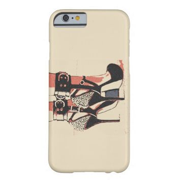 Good girl know what to wear sexy bondage cuffs barely there iPhone 6 case