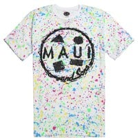 Maui & Sons Dynomite T-Shirt - Mens Tee - White