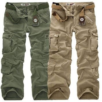 COCKCON Cargo Pants Camouflage Casual Cool Design Clothing Outwear Military Work Trousers Homme Army Cargo Pants Men