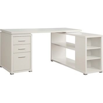 Coaster Yvette Collection L-Shaped Reversible Desk, Multiple Colors - Walmart.com