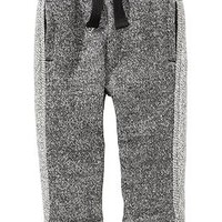 Reverse-Trim Terry Sweatpants for Baby