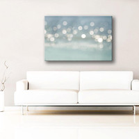 abstract photography canvas 12x18 fine art photography canvas wrap bokeh photography canvas wrap gray art gallery wrapped Project Runway