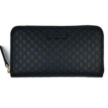 DCCKUG3 Gucci Guccissima Leather Continental Large Clutch Wallet