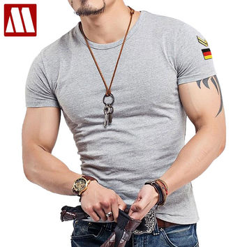 New 16 Colors Round neck Tactical T Shirt Men Army T-shirt Military Tshirt Cotton Tee Shirts Plus Size S-5XL Roupas Masculinas