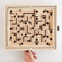 Labyrinth Game- Black Multi One