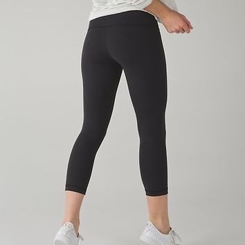 wunder under crop (hi-rise) *full on luxtreme | women's yoga crops | lululemon athletica