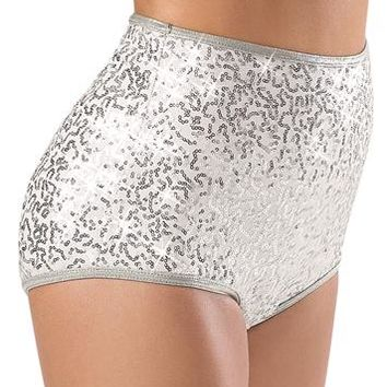 Sequin High-Waisted Brief - Balera