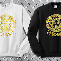 Versace Custom Crewneck Sweatshirt for Unisex adult made by USA