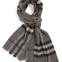 Men's Burberry Houndstooth Check Scarf