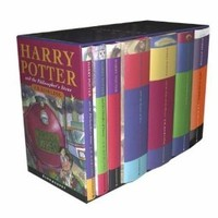 Harry Potter Children's Box Set, Book 1-7, British Cloth Editions (unknown)