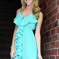 Love Is Enough Dress: Spearmint | Hope's