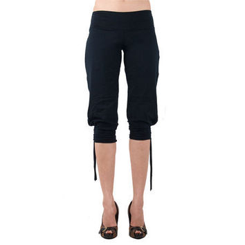 Organic Cotton Riding Pants  Black by eleven44 on Etsy