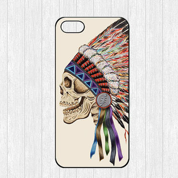 Death Skeleton Side Head iPhone 5 Case,Colorful Skull iPhone 5 Hard Case,cover skin case for iphone 5 case,More styles for you choose