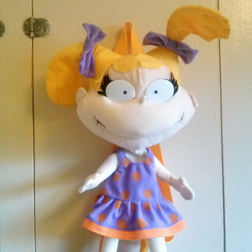 90's RUGRATS Angelica Pickles Backpack nickelodeon