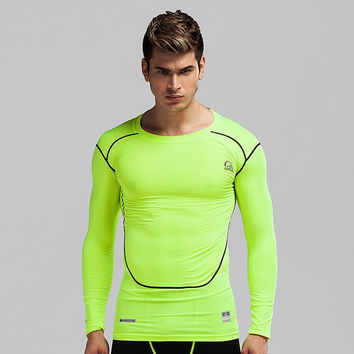 Men skin tights fitness Fitness top - 2 colors