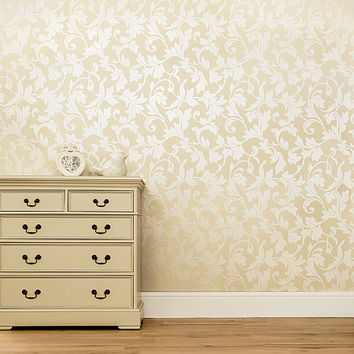 George Home Windsor Scroll Cream | Paint & Wallpaper | ASDA direct