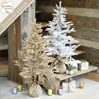 Suzanne Kasler Tinsel Tree | Ballard Designs