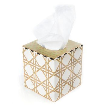 Lattice Tissue Box Cover