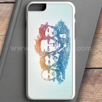 Coldplay Faces Lyrics Design iPhone 6S Case | casefantasy