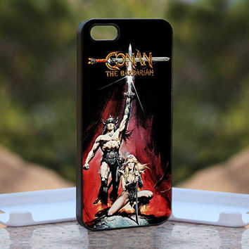 Conan the Barbarian MQL0199 - Design available for iPhone 4 / 4S and iPhone 5 Case - black, white and clear cases